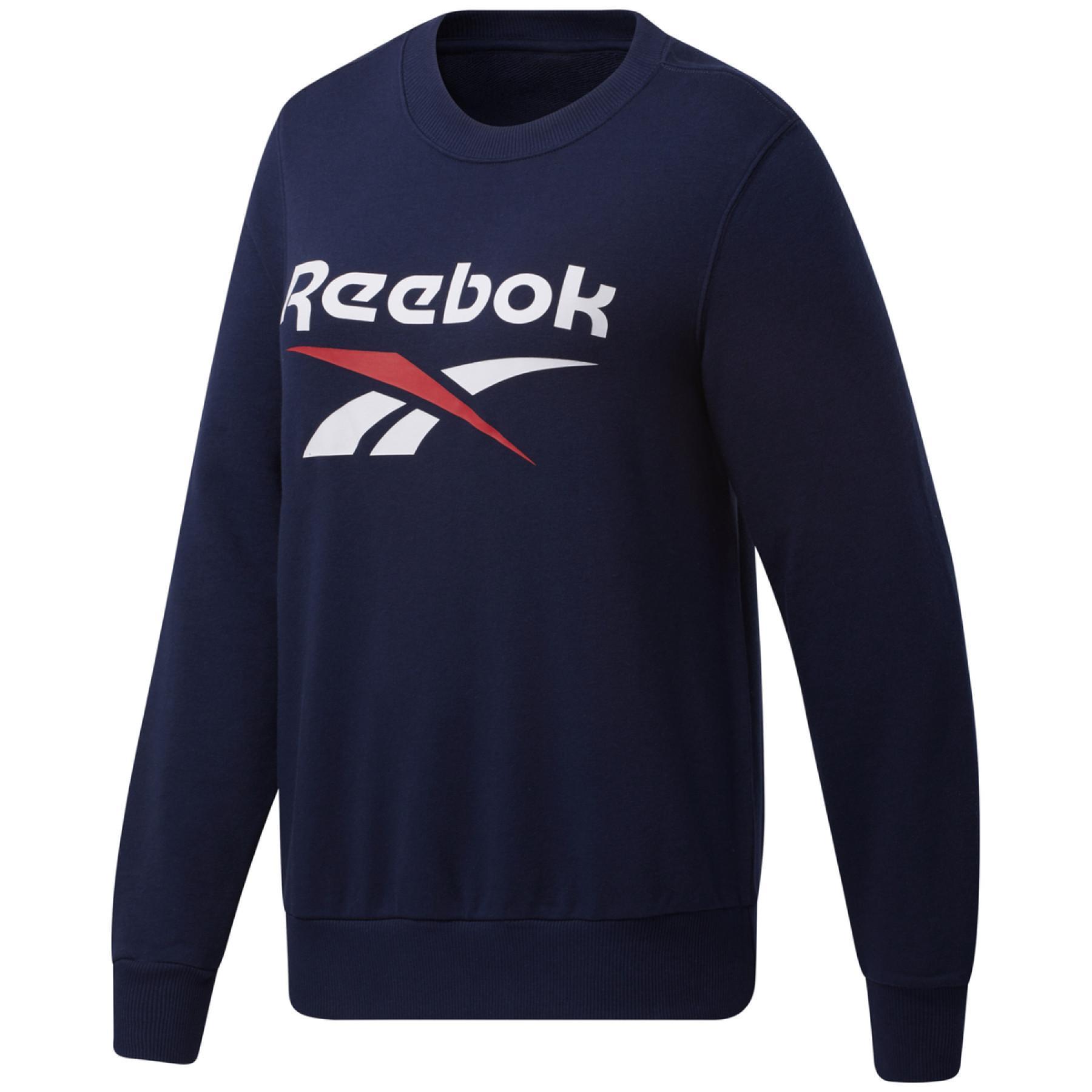 Sweatshirt femme Reebok Identity Logo French Terry