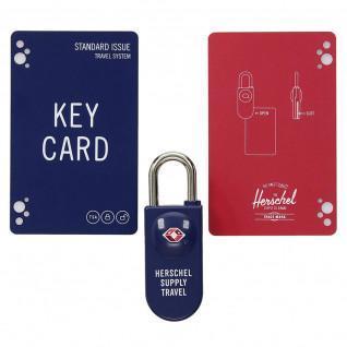 Cadenas Herschel tsa card lock