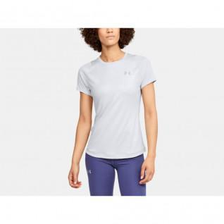 T-shirt femme Under Armour Qualifier Iso-Chill Embossed