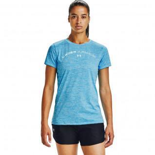 T-shirt femme Under Armour à manches courtes Tech Twist Graphic LU