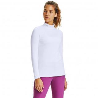 Maillot de golf femme à manches longues et col montant ColdGear Infrared