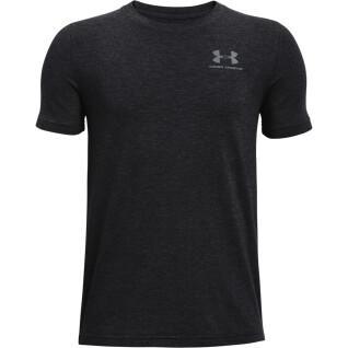 T-shirt garçon Under Armour à manches courtes en coton