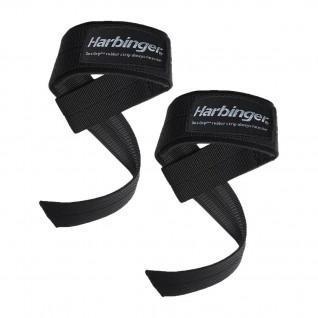 Sangles de poignets Harbinger Big Grip padded lifting straps