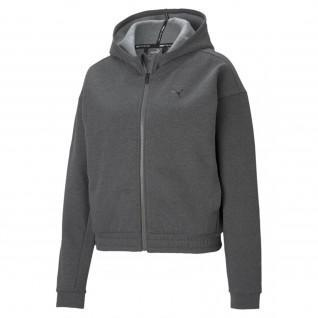 Sweatshirt femme Puma Train Favorite Full Zip