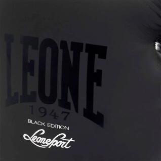 Gants de boxe noir et blanc Leone 14 oz