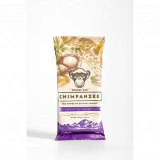 Barre énergétique Chimpanzee vegan (x20) : Cacahuète croquantes 55g