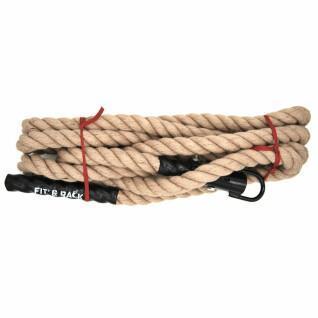 Corde à Grimper Fit & Rack 4,8m D38