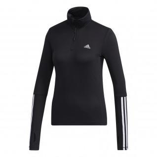 Sweatshirt femme adidas Intuitive Warmth 1/4 Zip Long Sleeve