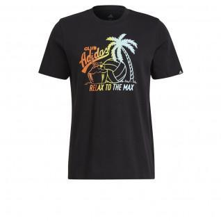 T-shirt adidas Aeroready Vacation Graphic