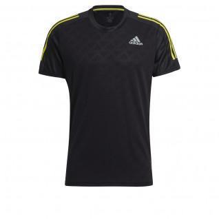 T-shirt adidas Own The Run 3-Bandes Running