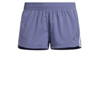 Short femme adidas Pacer3-Stripes Woven