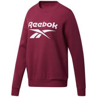 Sweatshirt femme Reebok Identity Logo Fleece