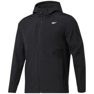 Sweatshirt à capuche Reebok Thermowarm+Graphene Zip-Up