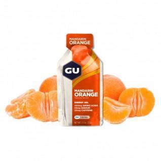 Lot de 24 Gels Gu Energy mandarine/orange