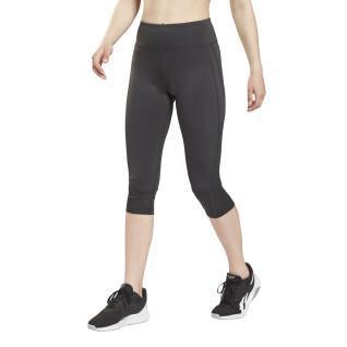 Legging 3/4 en mesh femme Reebok Workout Ready