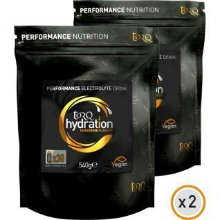 Boissons TORQ Hydratation - 0,54kg x 2