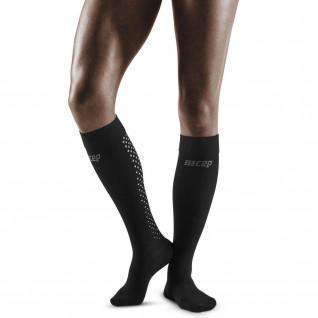 Chaussettes de compression hautes femme CEP compression 3.0