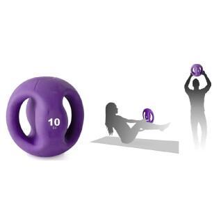 Medecine ball avec poignée Tremblay 10 kg