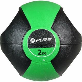 Medicine ball Pure2Improve handles 2Kg