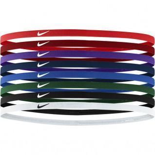Pack de 8 élastiques à cheveux Nike skinny